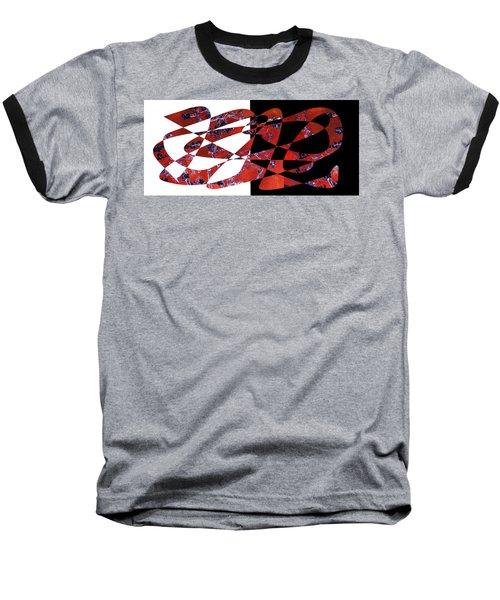 American Intellectual 6 Baseball T-Shirt by David Bridburg