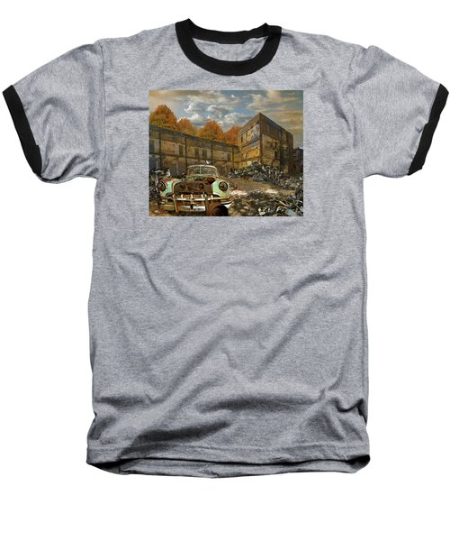 American Landscape Circa 2012 Baseball T-Shirt