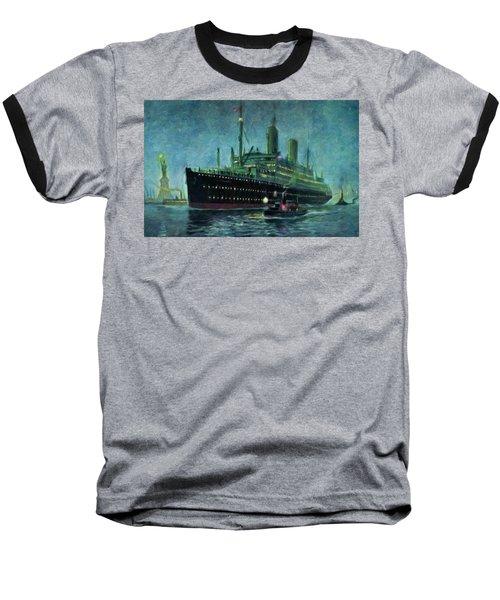 American Line, New York Baseball T-Shirt