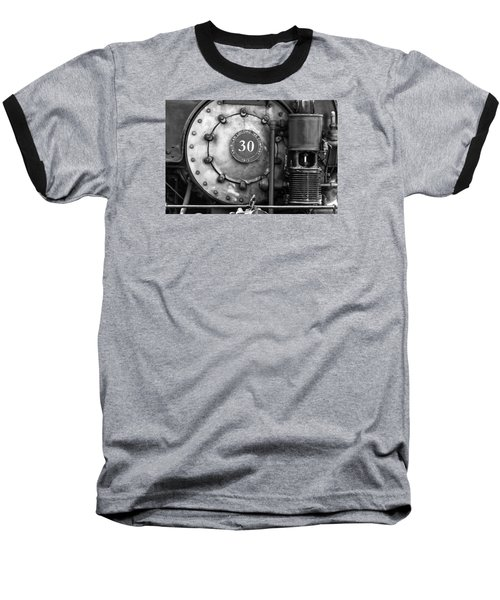 American Locomotive Company #30 Baseball T-Shirt by Scott Hansen