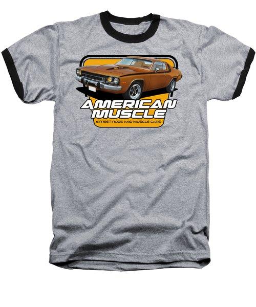 American Muscle Roadrunner Baseball T-Shirt