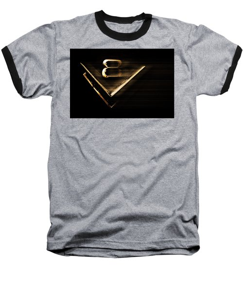 American Muscle V8 Baseball T-Shirt by Gray  Artus