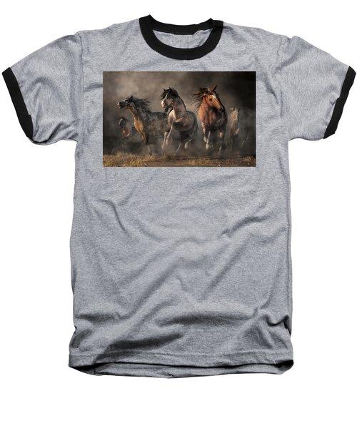 American Paint Horses Baseball T-Shirt