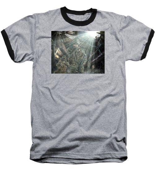 American Patriots Baseball T-Shirt by Mark Allen