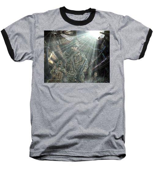 American Patriots Baseball T-Shirt