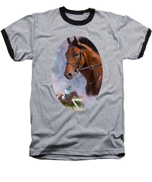 American Pharoah Baseball T-Shirt