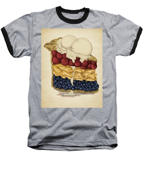 American Pie Baseball T-Shirt by Meg Shearer