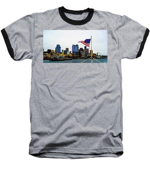 American Seattle Ic Baseball T-Shirt