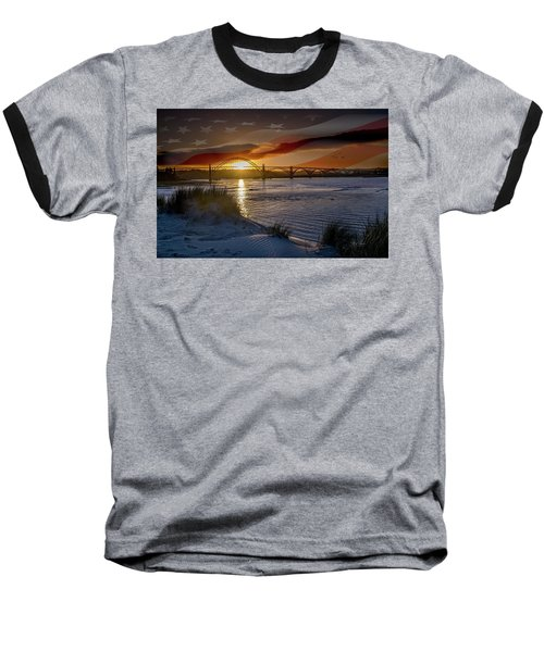American Skies Baseball T-Shirt
