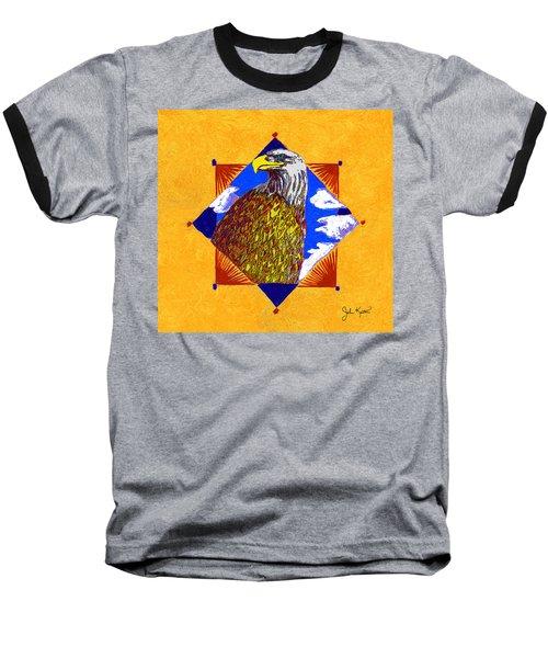 American Spirit Baseball T-Shirt by John Keaton