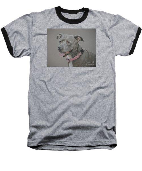 American Staffordshire Terrier Baseball T-Shirt