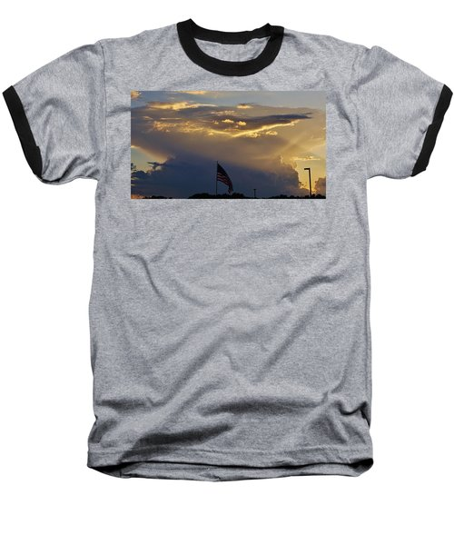 American Supercell Baseball T-Shirt by Ed Sweeney