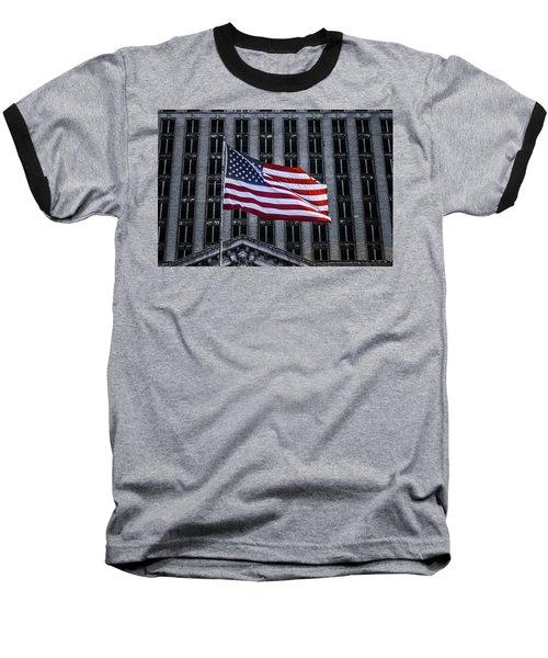 American The Beautiful  Baseball T-Shirt