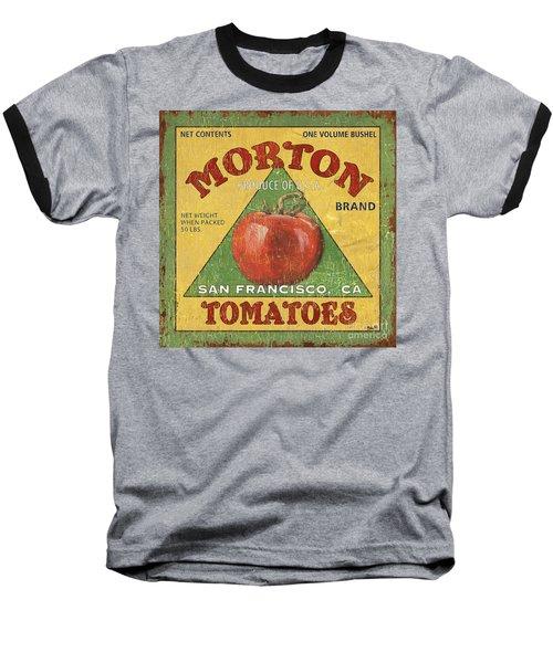 American Veggies 2 Baseball T-Shirt by Debbie DeWitt