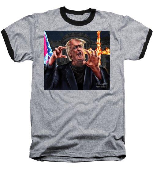 Amerikkkenstein Baseball T-Shirt