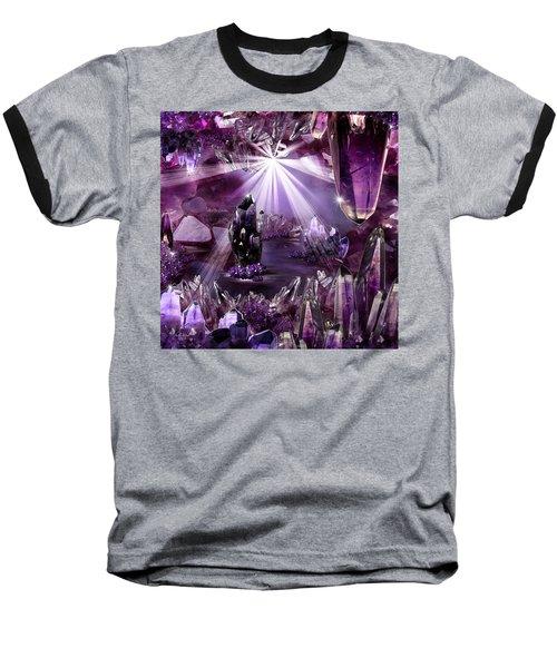 Amethyst Dreams Baseball T-Shirt