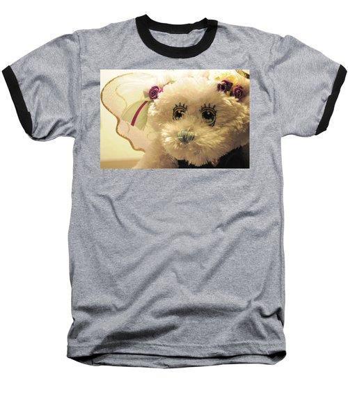 Amethyst Fairy Bear Baseball T-Shirt