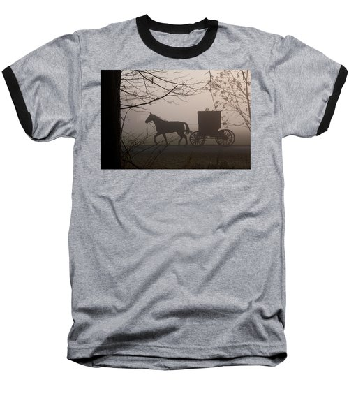 Amish Morning 1 Baseball T-Shirt