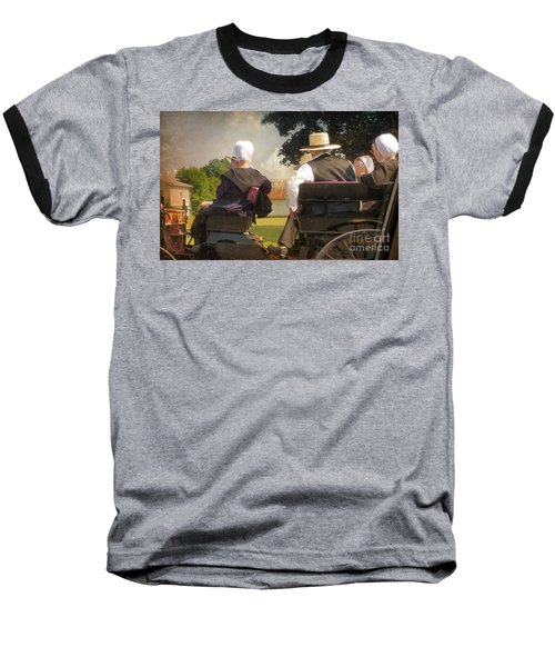 Amish Travelling Baseball T-Shirt