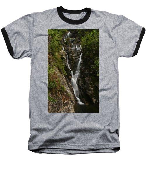 Ammonoosuc Ravine Falls Baseball T-Shirt