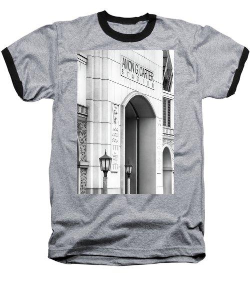 Amon Carter Stadium 110416 Bw Baseball T-Shirt