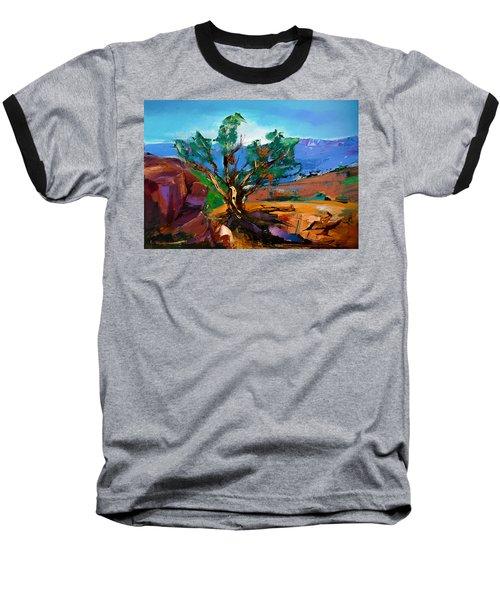 Among The Red Rocks - Sedona Baseball T-Shirt