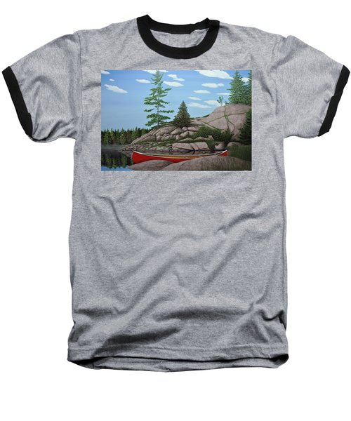 Among The Rocks II Baseball T-Shirt