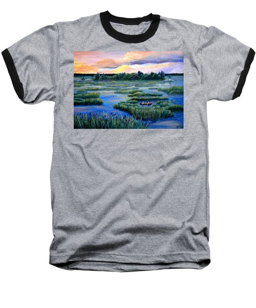 Amongst The Reeds Baseball T-Shirt
