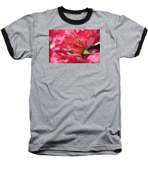 Amongst The Rose Petals Baseball T-Shirt
