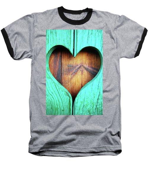 Amor ... Baseball T-Shirt by Juergen Weiss