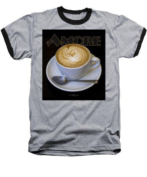 Amore Poster Baseball T-Shirt