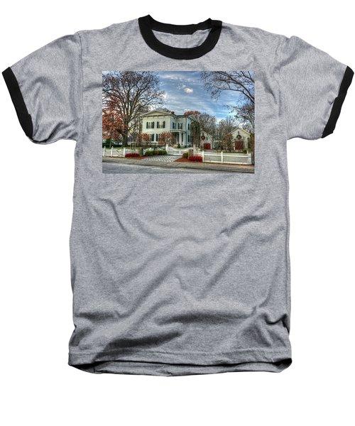 Amos Tuck House In Late Autumn Baseball T-Shirt