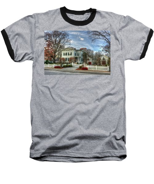 Amos Tuck House In Late Autumn Baseball T-Shirt