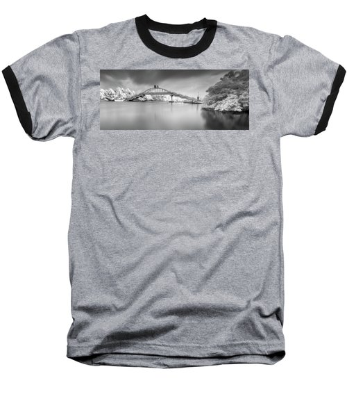 Amritasetu Baseball T-Shirt by Sonny Marcyan