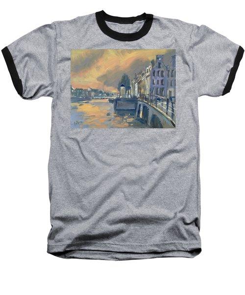 Amsterdm Morning Light Amstel Baseball T-Shirt