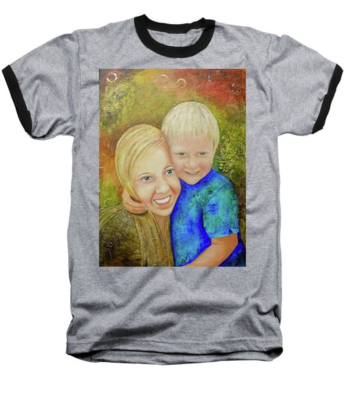 Amy's Kids Baseball T-Shirt by Terry Honstead