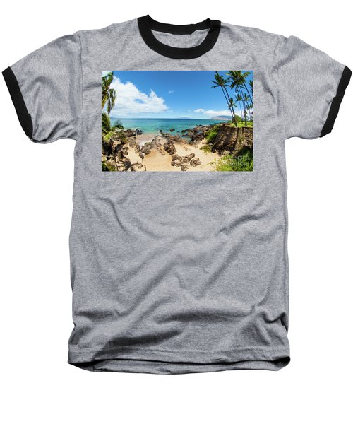 Baseball T-Shirt featuring the photograph Amzing Beach In Hawaii Islands by Micah May