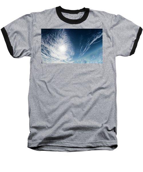 An Abstract Sky Baseball T-Shirt