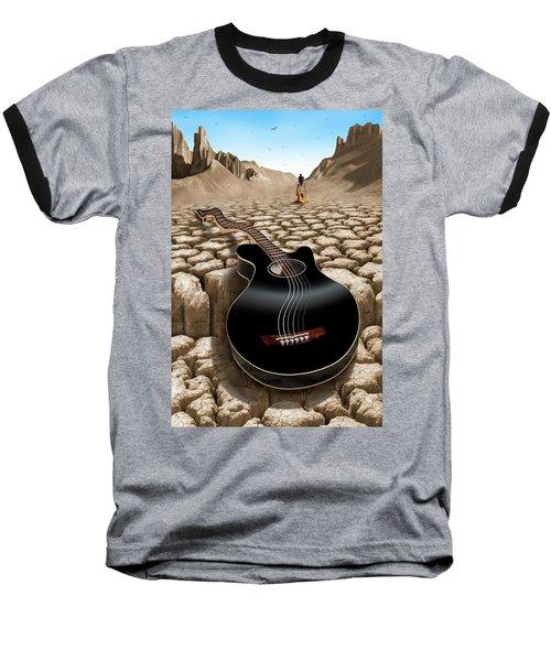 An Acoustic Nightmare 2 Baseball T-Shirt by Mike McGlothlen