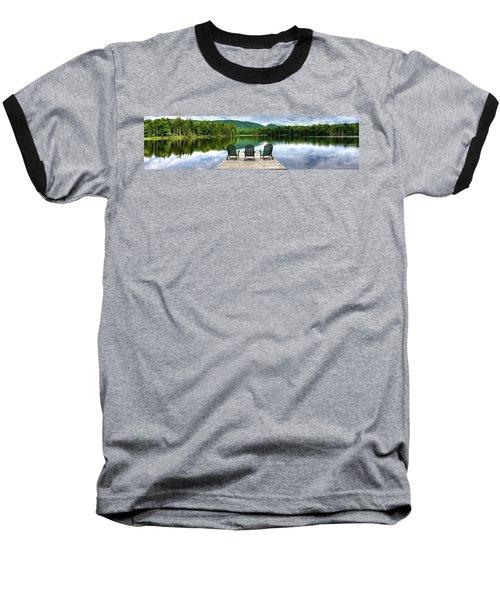 Baseball T-Shirt featuring the photograph An Adirondack Panorama by David Patterson