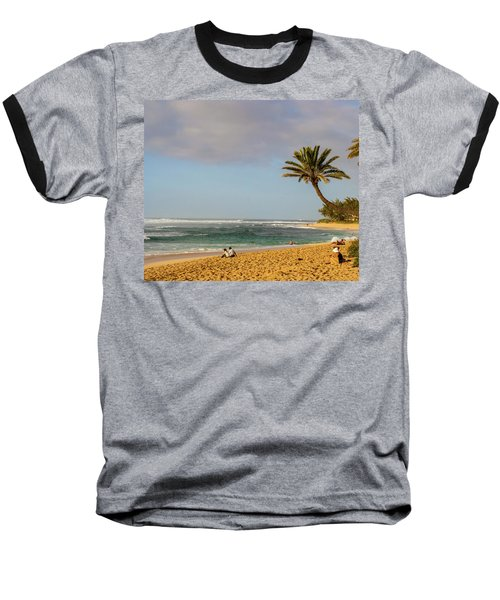 An Afternoon At Sunset Beach Baseball T-Shirt