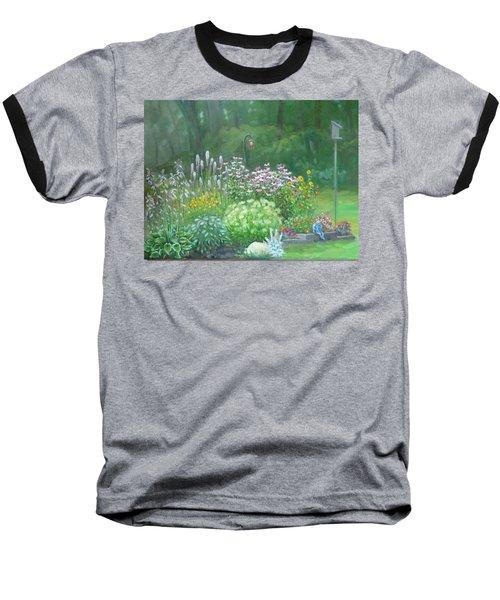 An Angel In My Garden Baseball T-Shirt by Bonita Waitl
