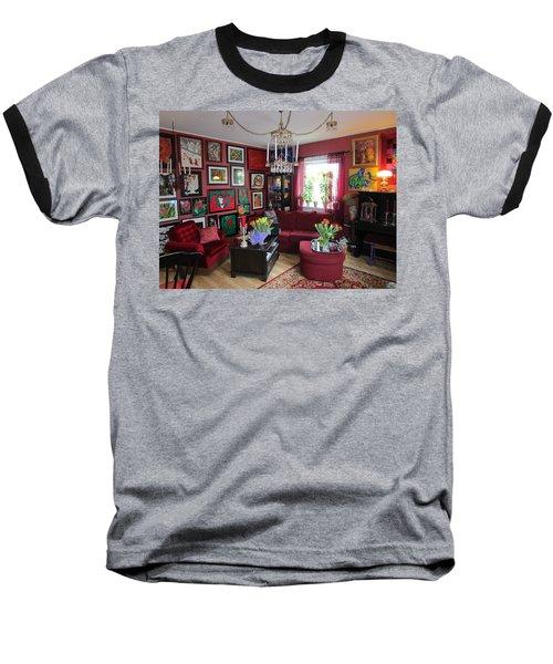 An Artists Livingroom Baseball T-Shirt