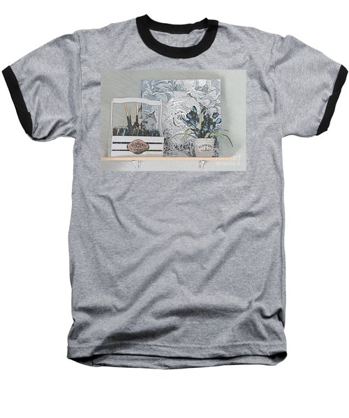 An Artist's Shelf Baseball T-Shirt