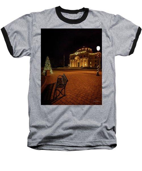 An Atascadero Christmas Baseball T-Shirt