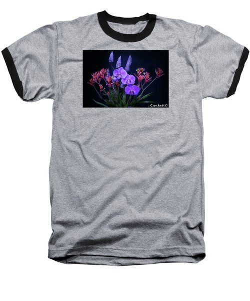 An Aussie Flower Arrangement Baseball T-Shirt