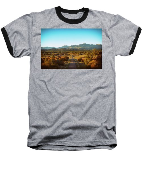 An Autumn Evening In Pagosa Meadows Baseball T-Shirt by Jason Coward