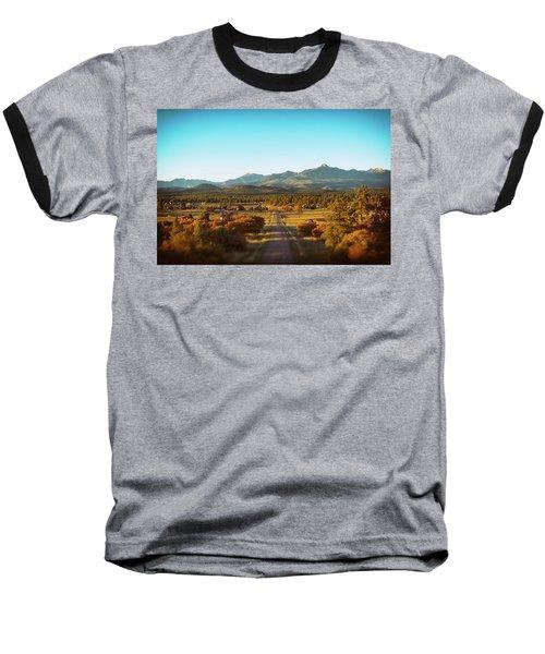 An Autumn Evening In Pagosa Meadows Baseball T-Shirt