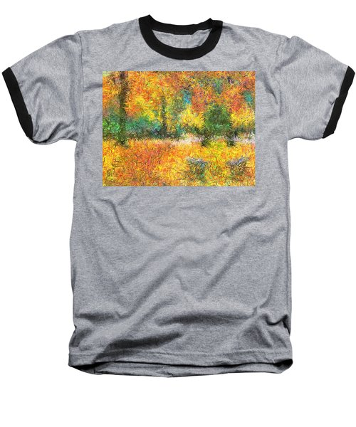 An Autumn In The Park Baseball T-Shirt