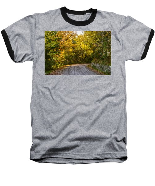 An Autumn Landscape - Hdr 2  Baseball T-Shirt